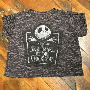 Tim Burton Nightmare Before Christmas Tee NEW